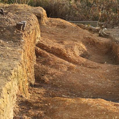 铜铎出土地 中御堂