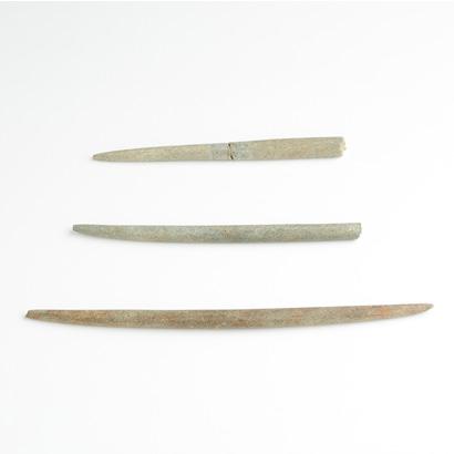冲之岛古坟群 棒状石制品