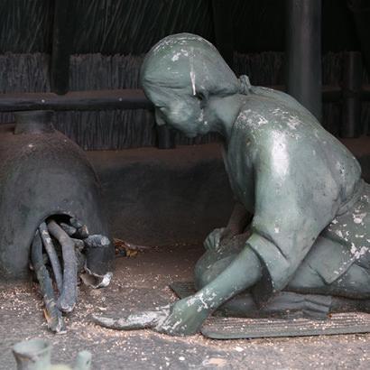贵船神社遗迹・海人使用土器制盐的景象