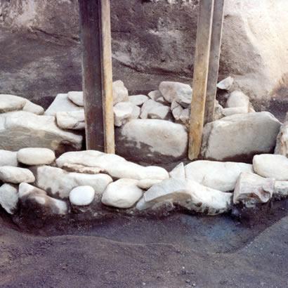 旧城内遗迹 箱式石棺