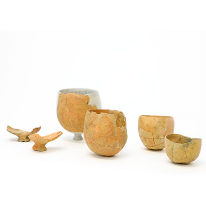 引野遗迹出土文物 圆底式制盐土器