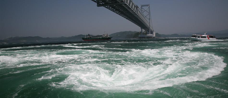 鸣门海峡与漩涡