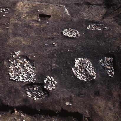 贵船神社遗迹 发掘现场/由兵库县立考古博物馆提供