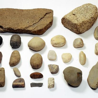 五斗长垣内遗迹的出土文物・石器