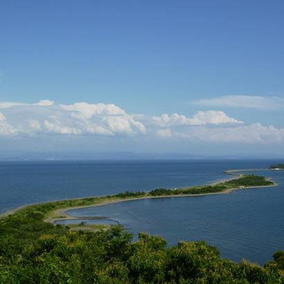 纪淡海峡与由良 成岛
