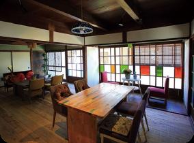 来自海岛的精心款待。隐于古老民家之中的咖啡厅与旅馆 淡